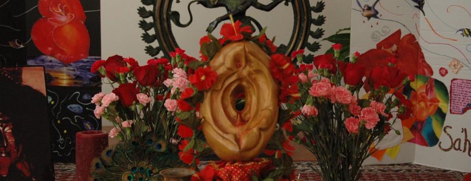 Yoni Puja Altar